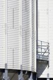 White silo Royalty Free Stock Photos