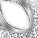White and silver background Stock Photos