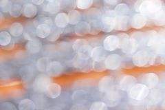 White or silver bokeh abstract patterns background. Close up White or silver bokeh abstract patterns background royalty free stock photography