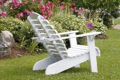 White Single Chair Stock Photos