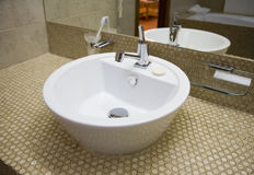 White sink 1 Royalty Free Stock Image