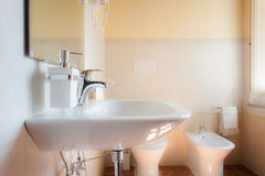 White sink Stock Images
