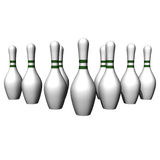 White size of bowling Stock Image