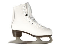 White Skate Royalty Free Stock Photography