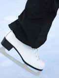 White skate Royalty Free Stock Image