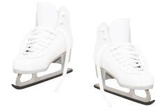 White skate Royalty Free Stock Photos