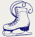 White skates Royalty Free Stock Images