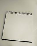White sketch book Stock Photo