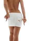 White skirt Stock Photo
