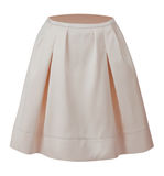 White skirt Royalty Free Stock Photography