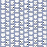 White skull patterns background Stock Images