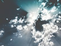 White Sky Royalty Free Stock Images