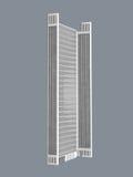 White skyscraper Stock Images