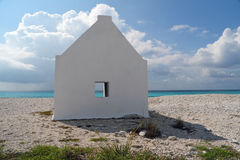 White Slave Hut - Bonaire, Netherlands Antilles Stock Image