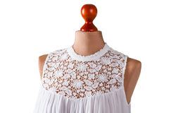 White sleeveless summer top. Stock Photo