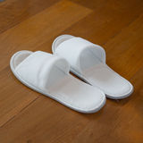 White Slipper Royalty Free Stock Image