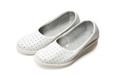 White slippers Royalty Free Stock Photos