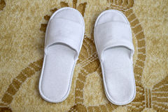 White slippers Stock Photo