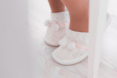 White slippers Stock Image