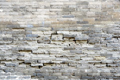 White slit brick wall background stock images