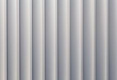 White sliver corrugated metal Stock Photo