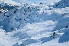 White slopes Royalty Free Stock Photos