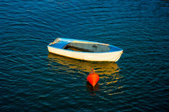 White small boats. Royalty Free Stock Photography