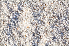 White small stones pattern Stock Photography