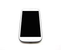 White smart phone Stock Photos