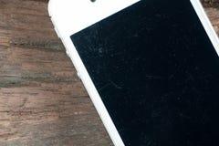 White smart phone Royalty Free Stock Photo