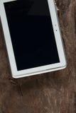 White smart phone Royalty Free Stock Image