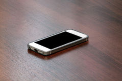 White smart phone Royalty Free Stock Photography