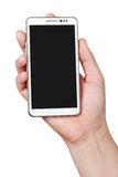 White smart phone PDA  Stock Image