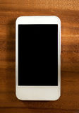 White smart phone Stock Images