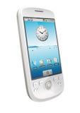 White Smartphone Stock Photos