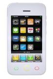 White smartphone Stock Photo