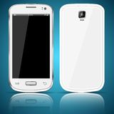 White smartphone Royalty Free Stock Photography