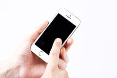 White Smartphone Royalty Free Stock Photo