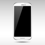 White Smartphone Royalty Free Stock Images