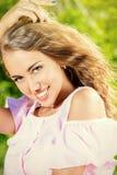 White smile Stock Image