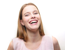 White smile Royalty Free Stock Images