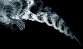 White smoke Stock Photography