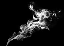 White smoke Royalty Free Stock Image