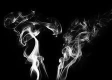White smoke Stock Image