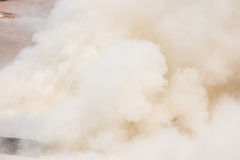 White smoke. Background of many white smoke Royalty Free Stock Images