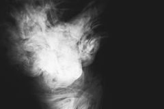 White smoke Royalty Free Stock Photography