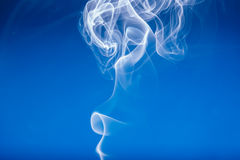 White smoke shape Royalty Free Stock Photos