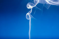 White smoke shape Stock Image
