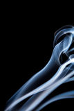 White smoke stream close up. Stock Images