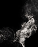 White smoke swirls Stock Photography